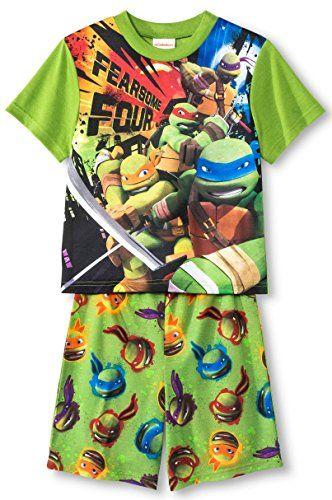 Teenage Mutant Ninja Turtles Toddler Boys Tank Top /& Short Set Size 2T