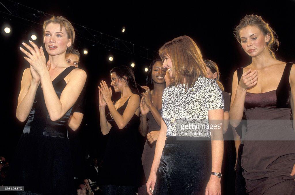 Fashion Designer Nicole Miller And Model Niki Taylor Attend The Fall Niki Taylor Fashion Nicole Miller