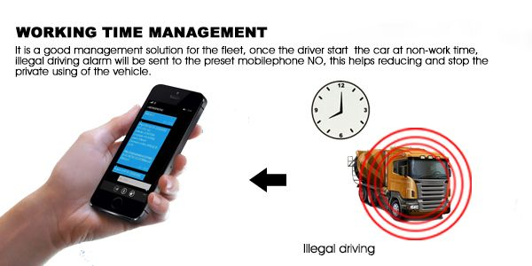 Gps Vehicle Tracker Oct Illegal Driver Alert