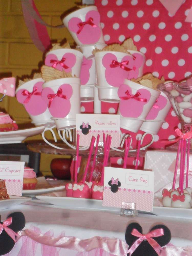 Minnie Mouse Birthday Party Ideas | Photo 3 of 13 | Catch My Party