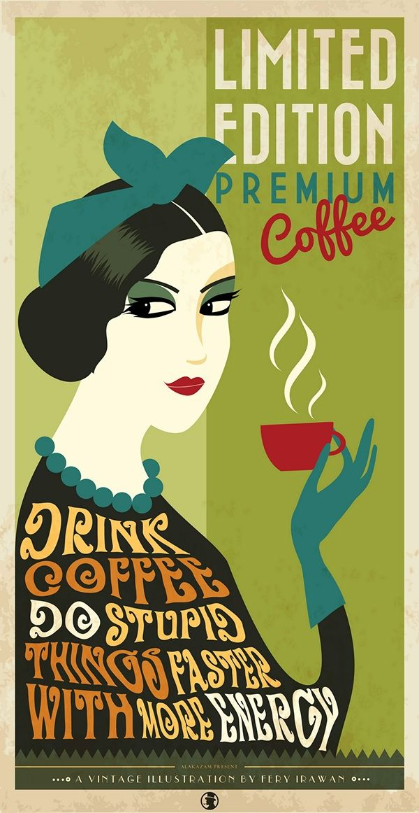 520 all vintage coffee posters ideen in