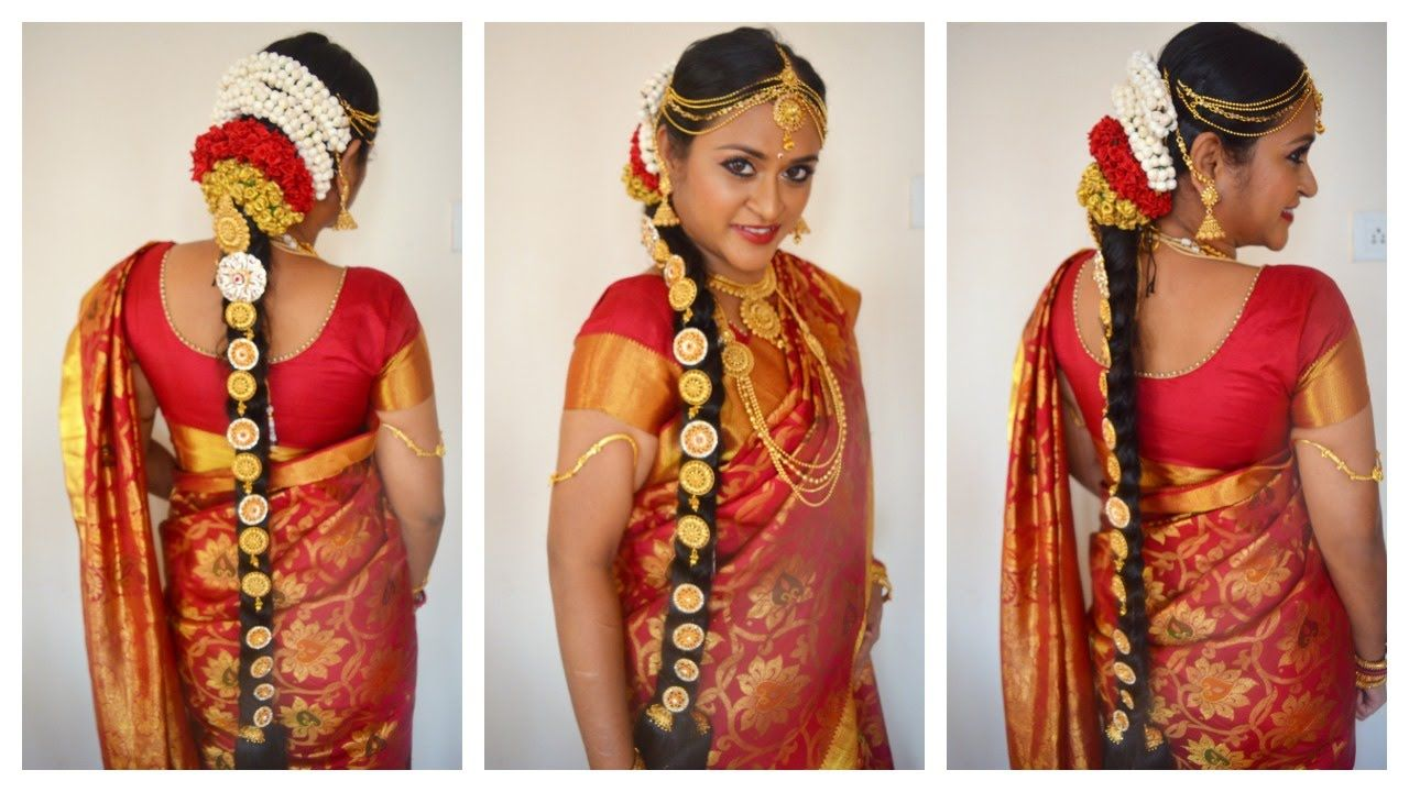 The Best Bridal Hair Makeup Tamil Nadu And Description Bridal Hair Jewelry Indian Wedding Hairstyles Bridal Hair And Makeup