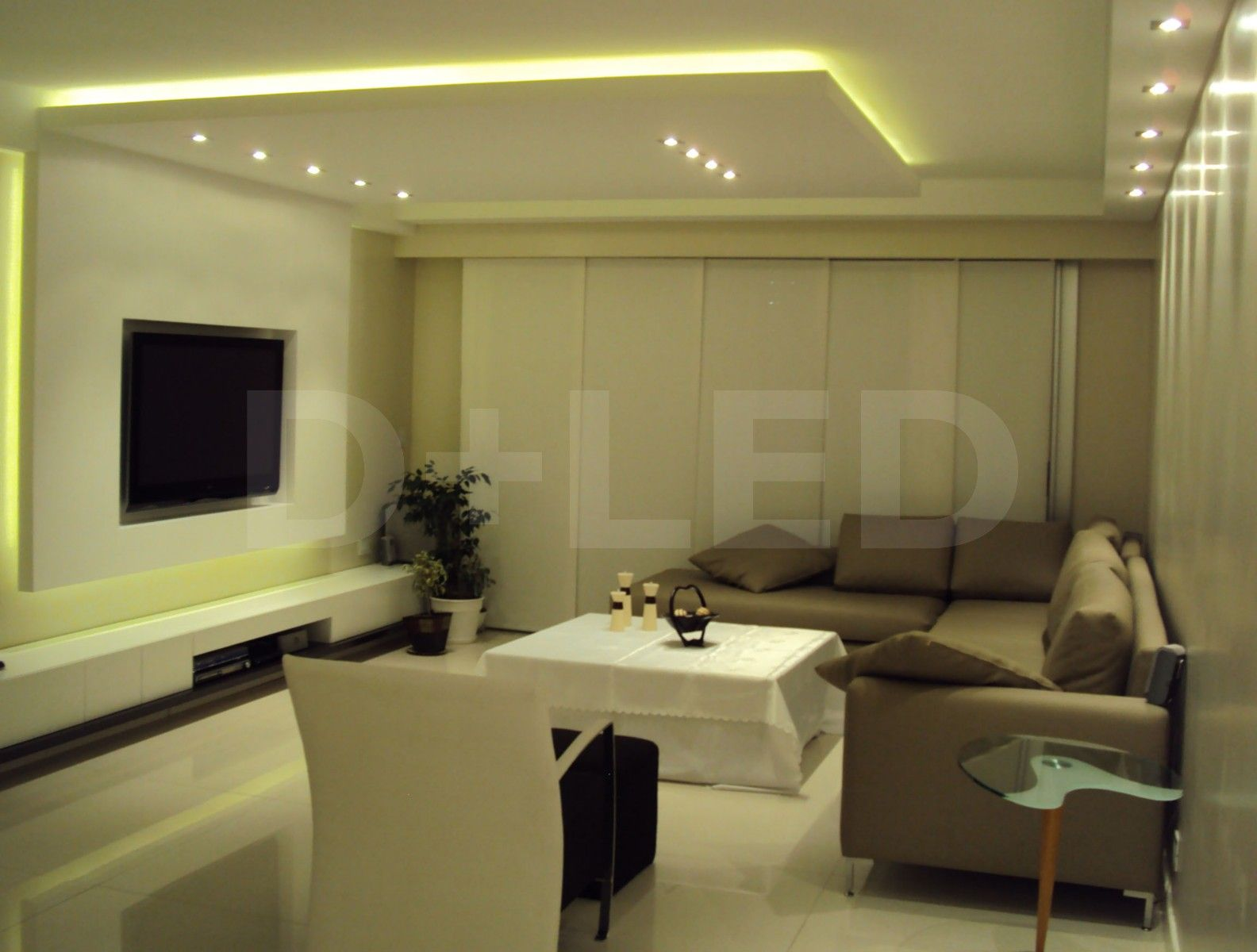 Aplicaciones de leds en demasled ilumina tus ideas - Iluminacion para techos bajos ...