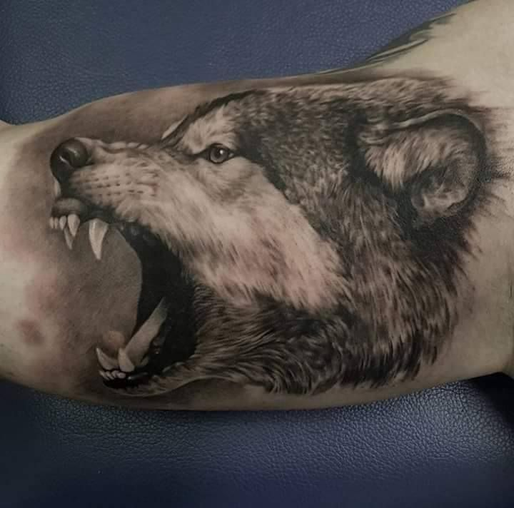 pin by michael woodyard on me pinterest wolf tattoos tattoos and arm tattoo. Black Bedroom Furniture Sets. Home Design Ideas