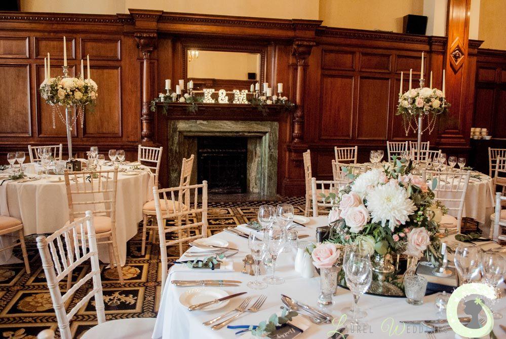 Midland Hotel Wedding Flowers And Decorations Vintage Glamour
