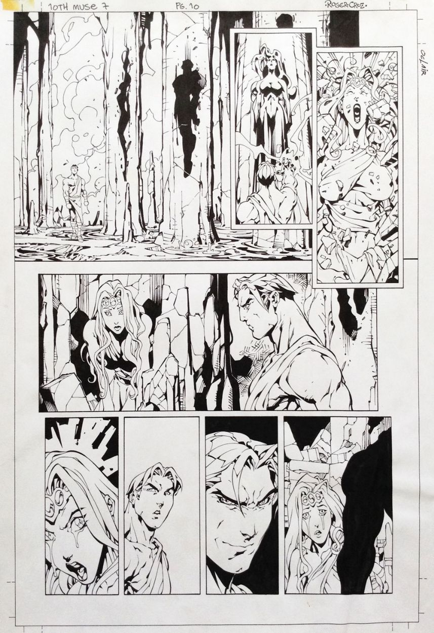10th Muse #07, page 10 - Roger Cruz, in Roger Cruz's 10th Muse #07 Comic…