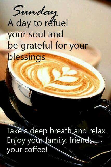 Sunday coffee | iNSPIRATION | Sunday morning coffee, Sunday coffee ... #sundayCoffee