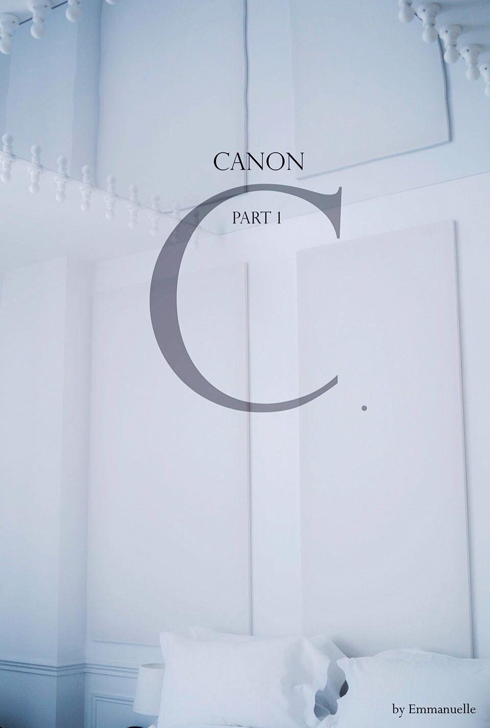 """Series """"Canon"""" Clélie Mathias by Emmanuelle"""