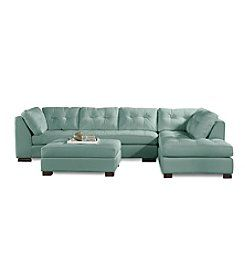 Red Canyon Newton 2 Piece Sectional Living Furniture Room Sofa