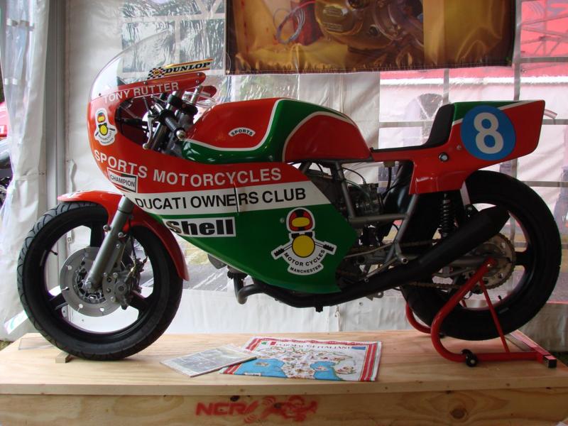 ducati pantah racing Loudbike - Ducstock 2011
