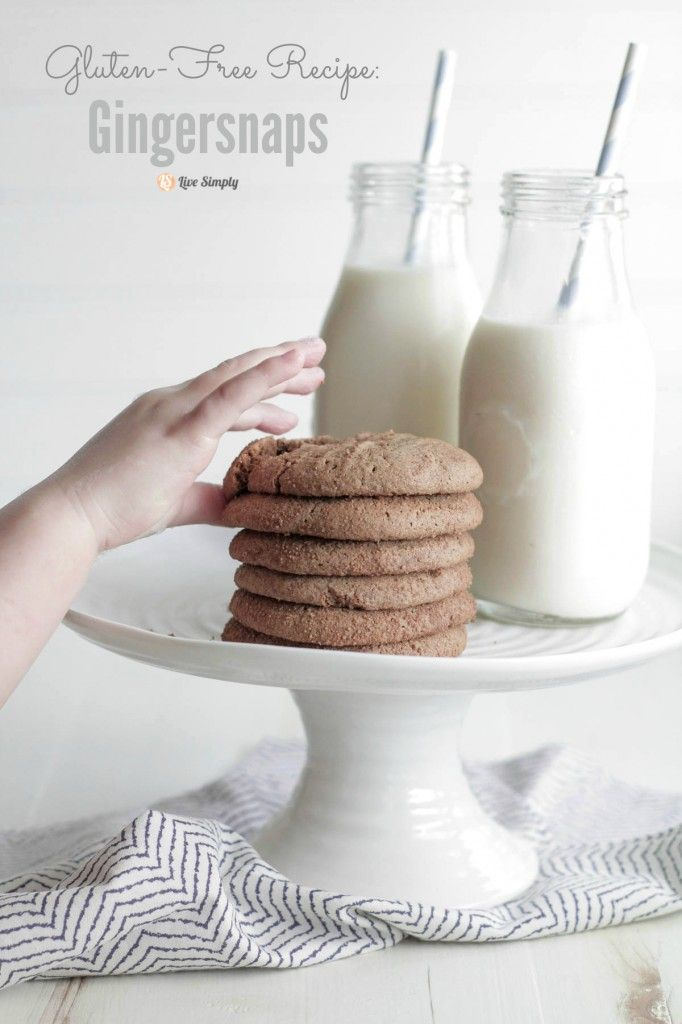 Ultimate Fall Baking: Converting Recipes for Gluten-Free Baking + Gingersnaps - Live Simply