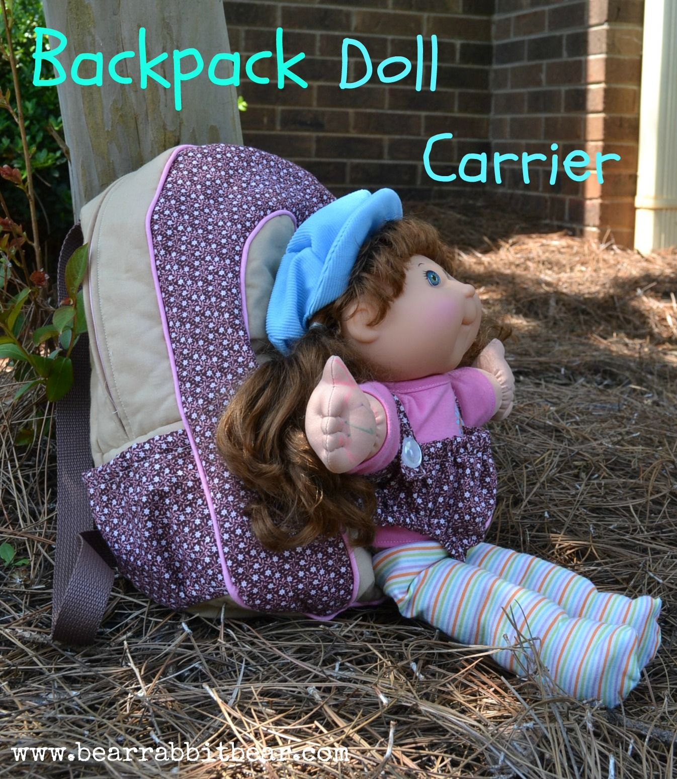 baby doll backpack carrier