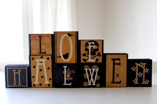 And she includes the printable for the letters!