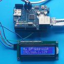 Print the IP Address on LCD From Arduino and Ethernet Shield #logicboard