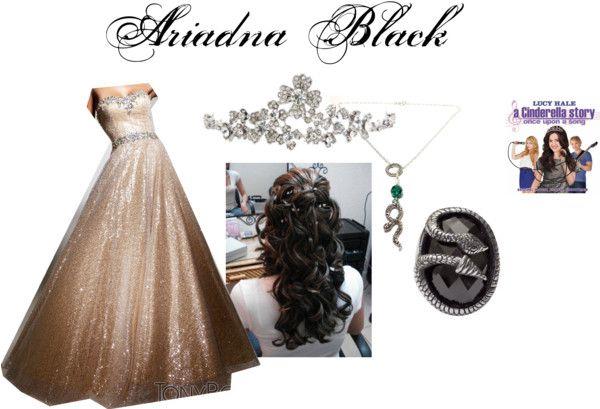 """Ariadna Black Baile"" by katrinacantropofain on Polyvore"