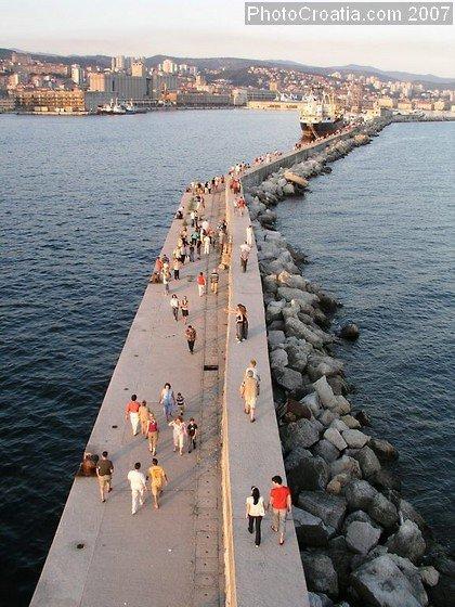 City Of Rijeka Rijeka Croatia European Road Trip
