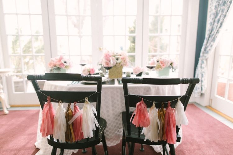 Pink & Gold Inspired Shoot / Photographed by: Ruth Eileen Photography