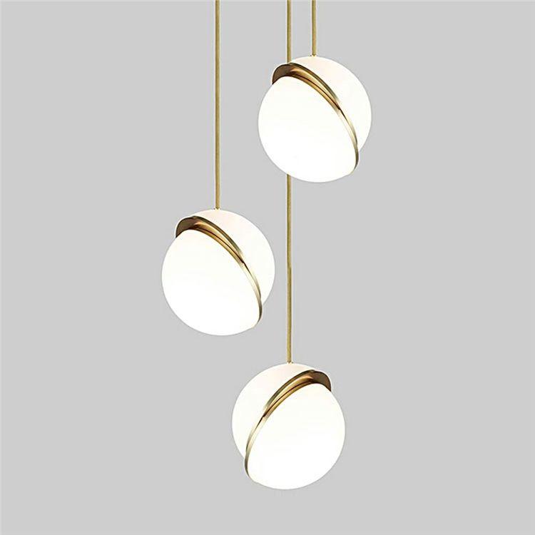 ペンダントライト 天井照明 ダイニング照明 書斎照明 北欧風 アクリル 3灯 ペンダントライト ランプ 吊りランプ