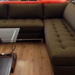 Studio Home Oakland Ca United States Tufted Mid Century Modern Sofa Sectional
