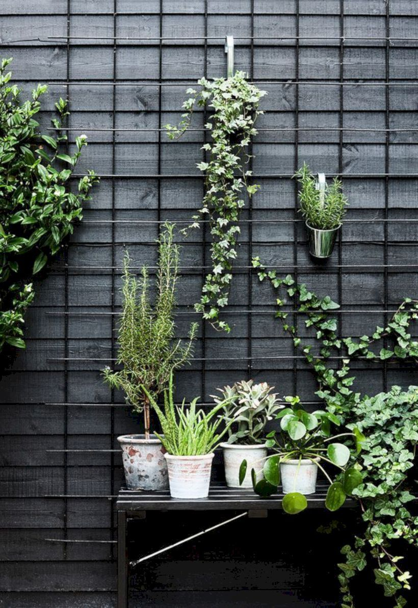 wonderful botanical planters screen as space divider space