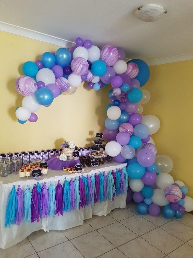 Abstact Half Balloon Arch Event Design Pinterest