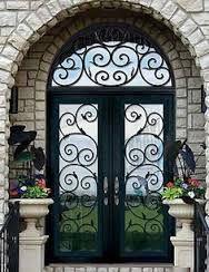 beautiful urns front door - Google Search