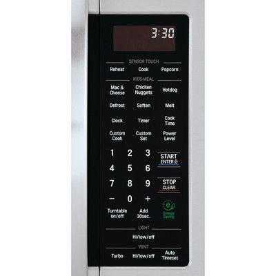 Lg 2 0 Cu Ft 1000w Over The Range Microwave Reviews Wayfair