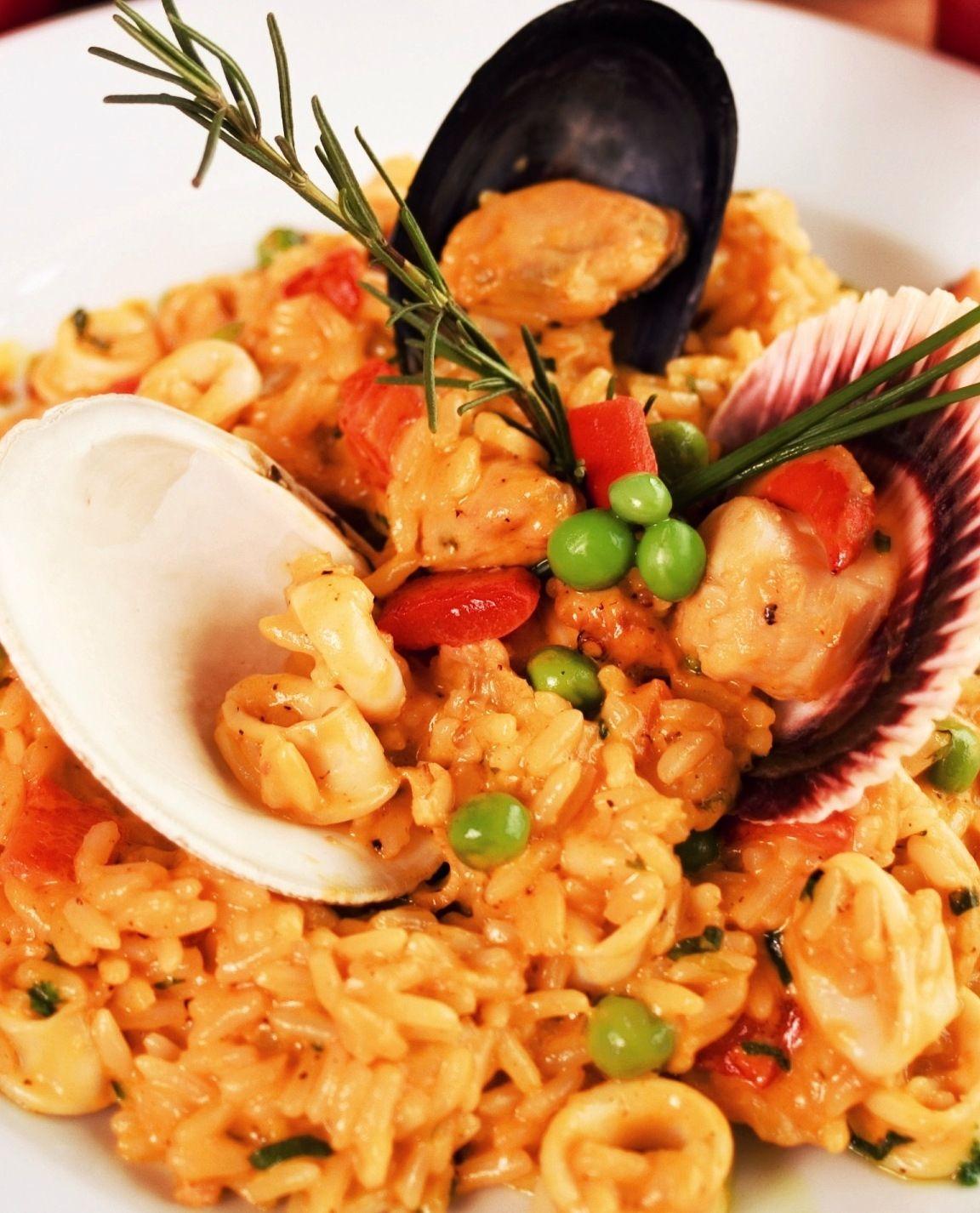 Arroz Con Mariscos Rice With Seafood