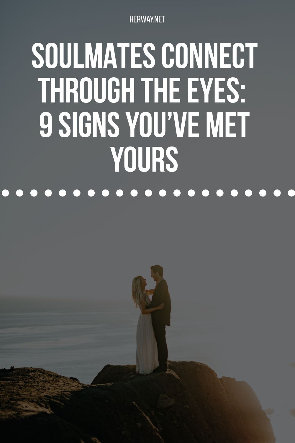 Signs eyes soulmate Soulmates Connect