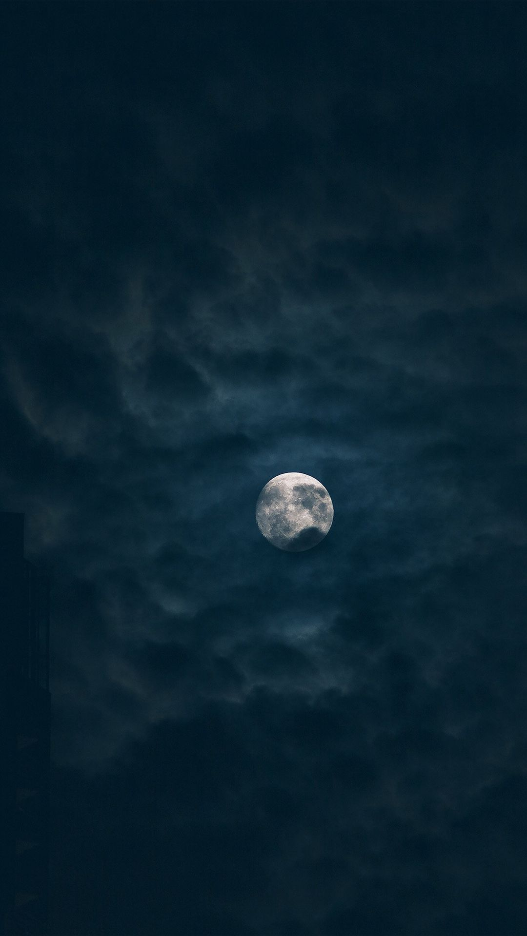 Moon Sky Dark Night Nature iPhone 6 plus wallpaper in