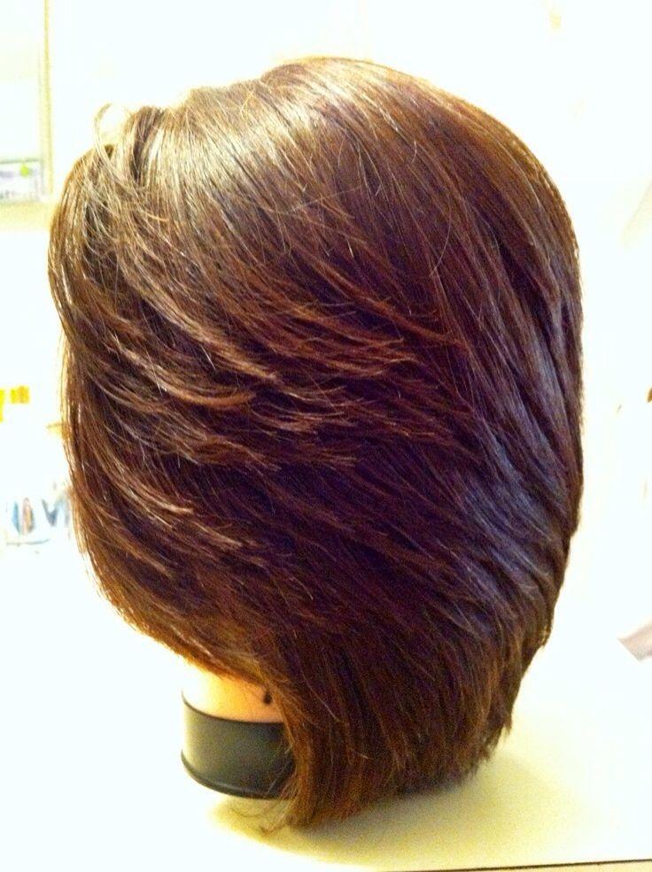 90 degree haircut | 90 degree haircut, Degree haircut  180 Degree Angle Haircut