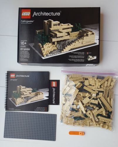 Lego Architecture 21005 Falling Water 100 Complete Winstructions