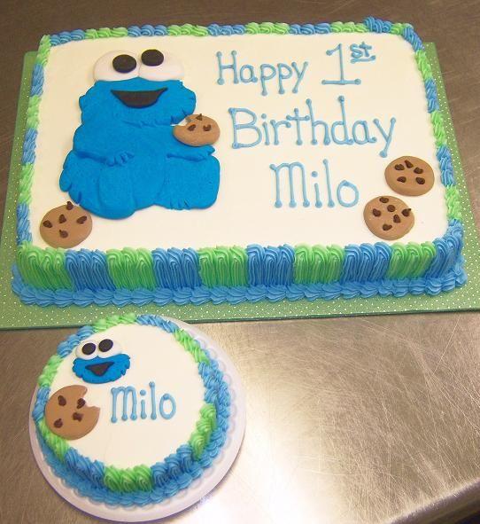 cookie monster birthday BabyCookieMonsterBirthdayCakeRS10jpg