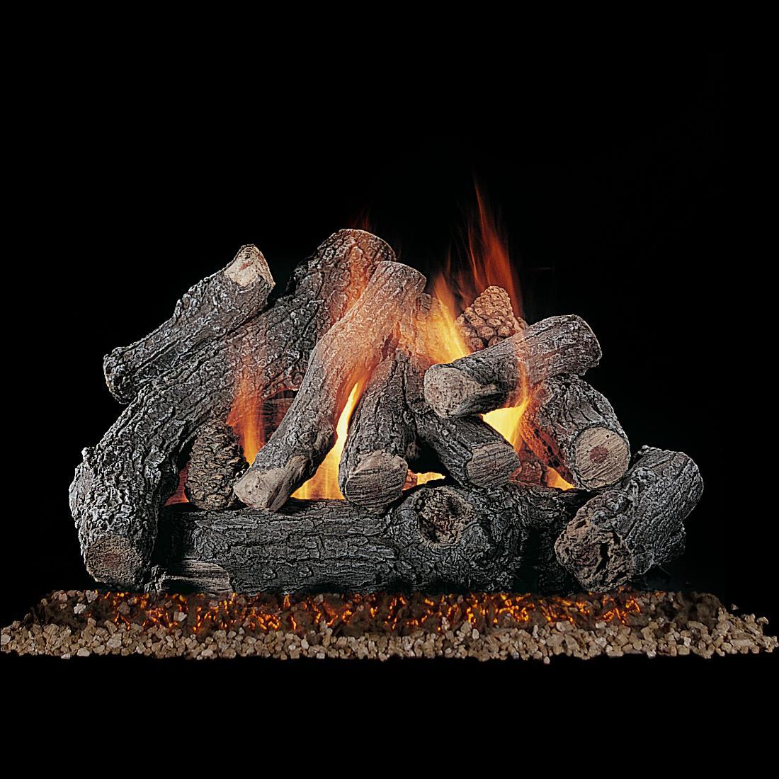 Rasmussen 24 Bonfire Gas Log Set With Vented Natural Custom