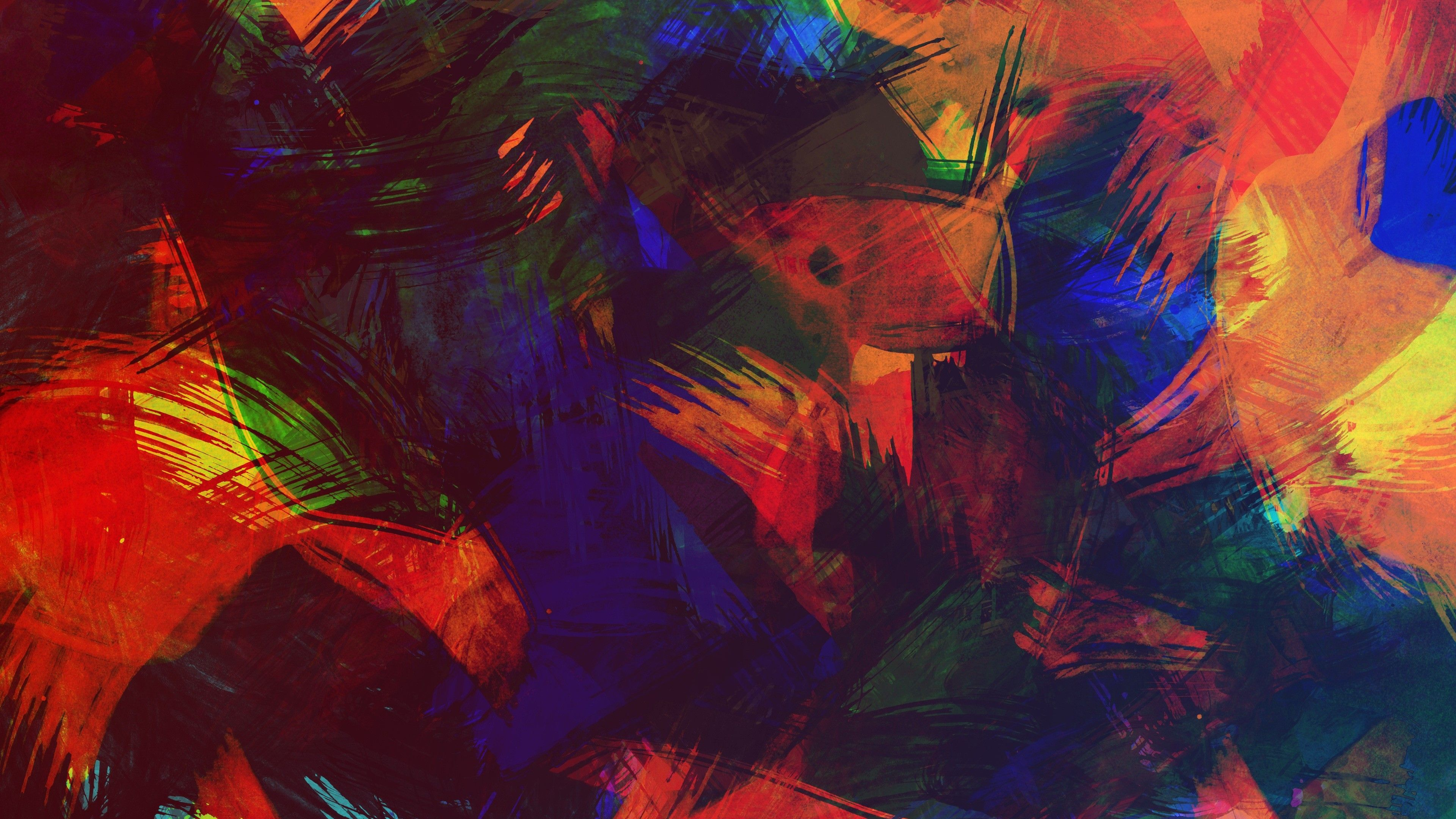 Picture Abstract Art In Hd Painting Free: Abstract Desktop Wallpapers