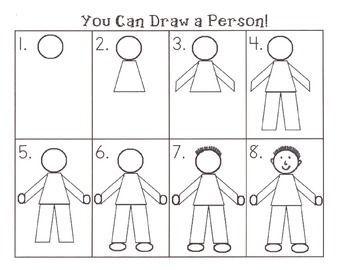 directed draw people - Google Search | Kindergarten ...