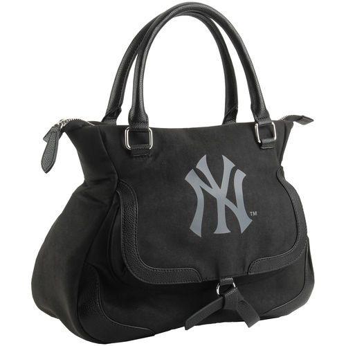 New York Yankees Women's Shadow Handbag - Black