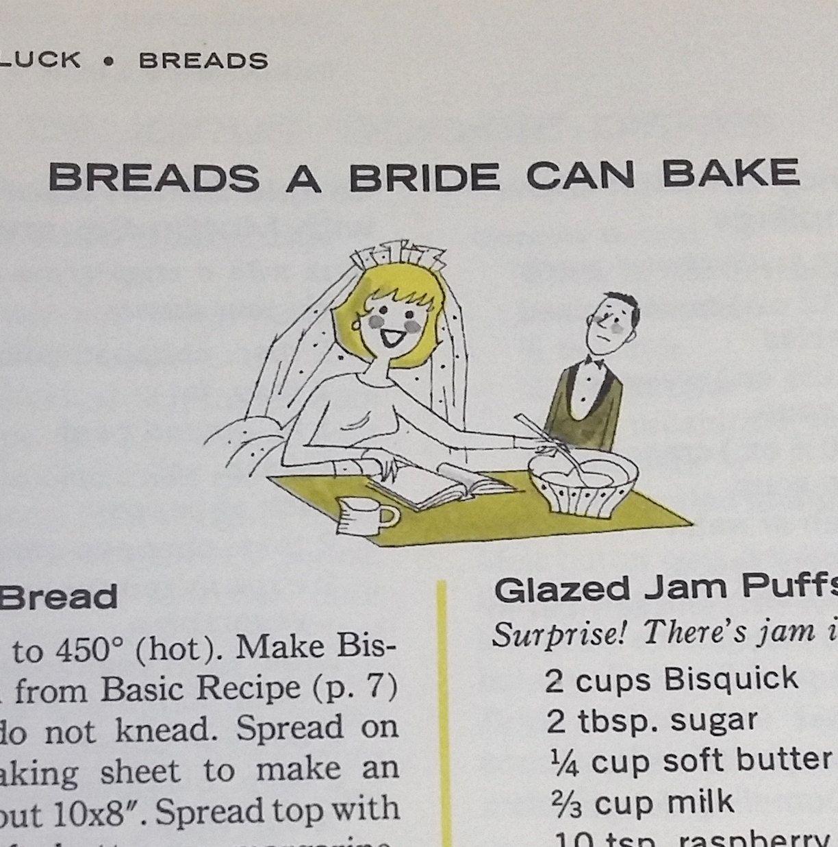 Vintage Cook Book 1964 The Bisquick Cookbook Betty Crocker Recipes ...
