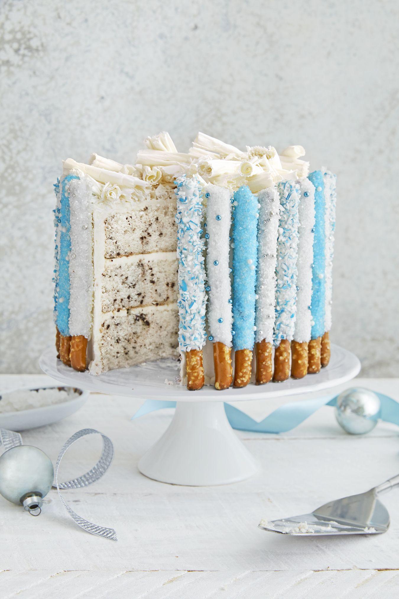 pastel de pretzels confitados