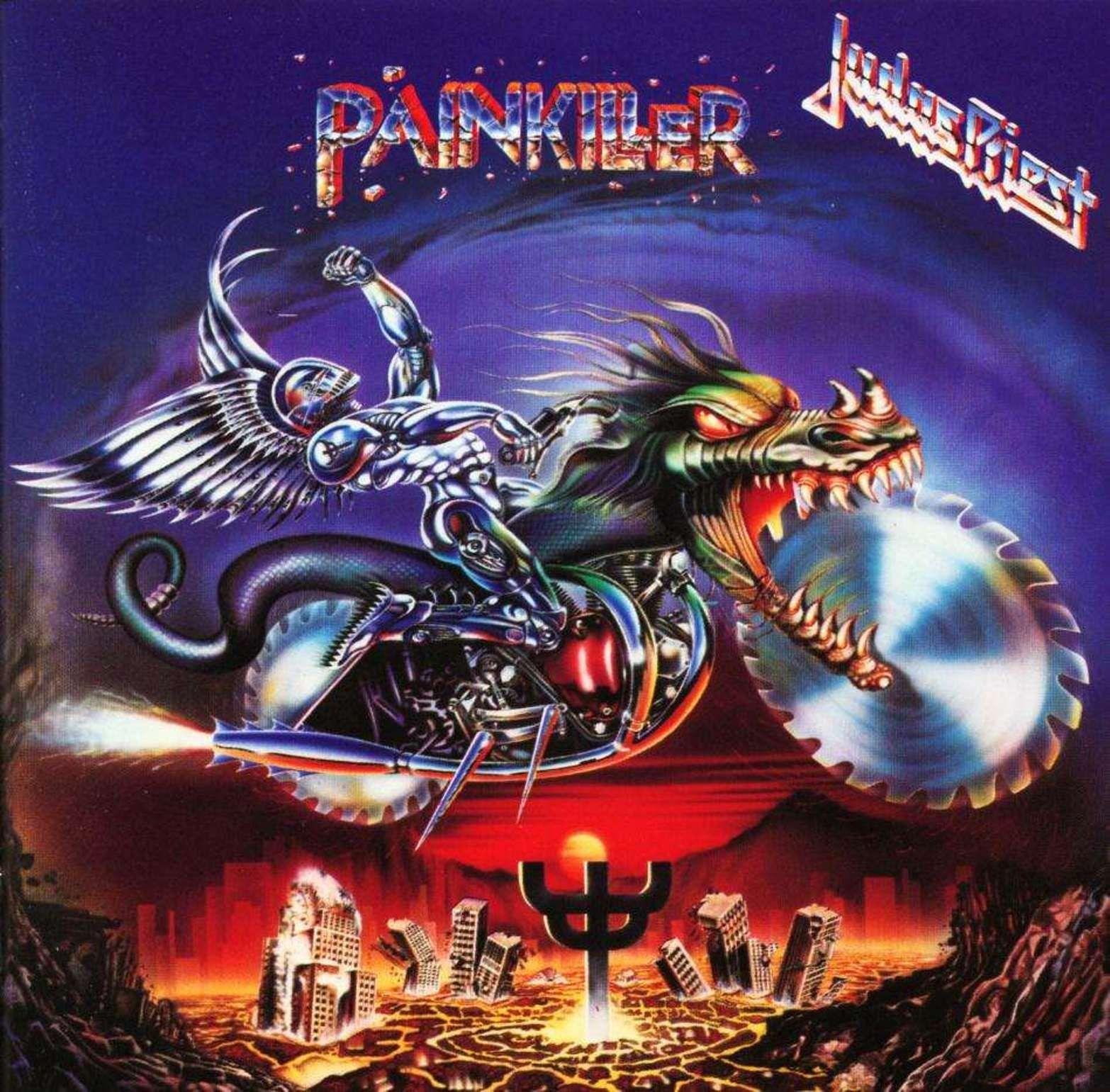 Judas Priest Quot Painkiller Quot Metal Album Covers Judas