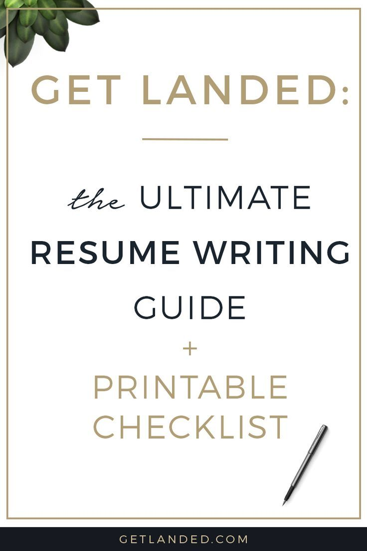 My Top 35 Resume Writing Tips Plus Free Pdf Checklist With
