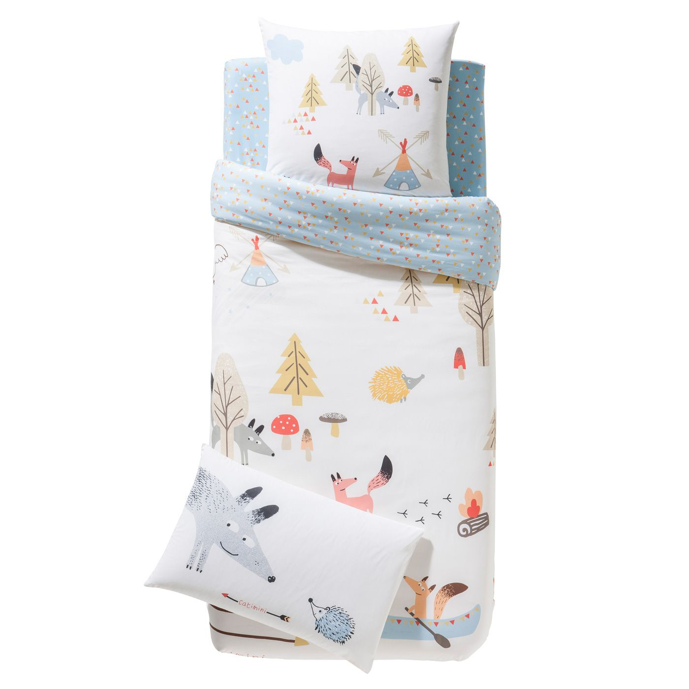 Ikea Bettwäsche Kind Kinder Bettwäsche Garnitur Quottipis And Canoes Quot Kid 39s Room Decor