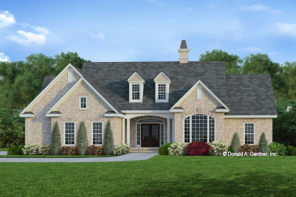 Ranch Style House Plan 3 Beds 2 Baths 1781 Sq Ft Plan 929 371 Brick House Plans Ranch Style House Plans Ranch Style Homes