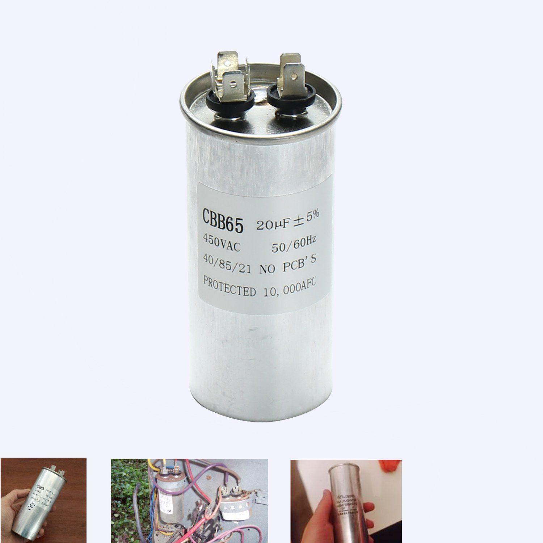 CBB65 450VAC 20uF Motor Capacitor Air Conditioner