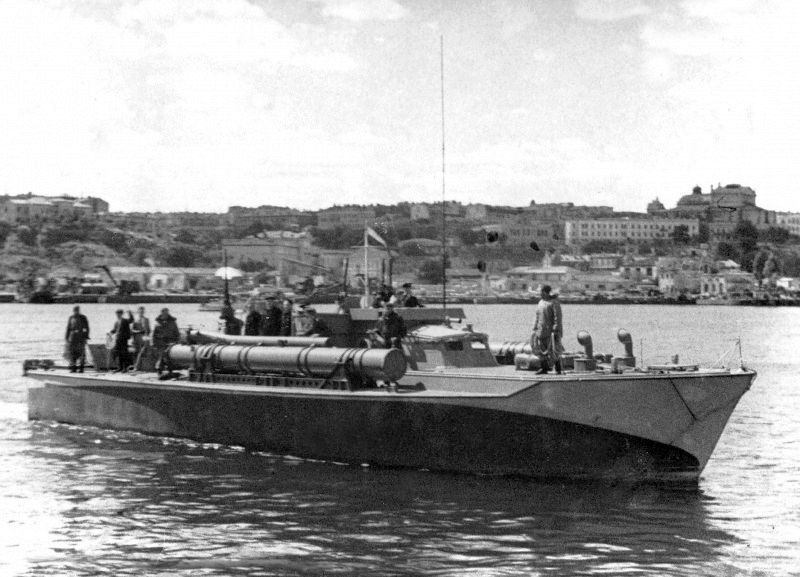 Soviet Navy American Motor Torpedo Boat A 1 Vosper Boats