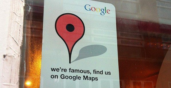 Were Famous Find Us On Google Maps Sticker Hotelmarketing - Find-us-on-google-maps-stickers
