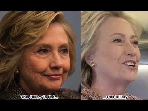 hillary ain t hillary no more evidence of body doubles msm won t