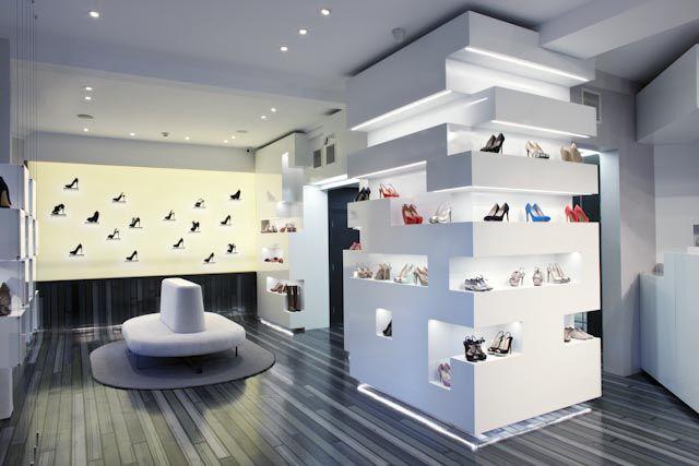 Shop interior, Design, Shoe store