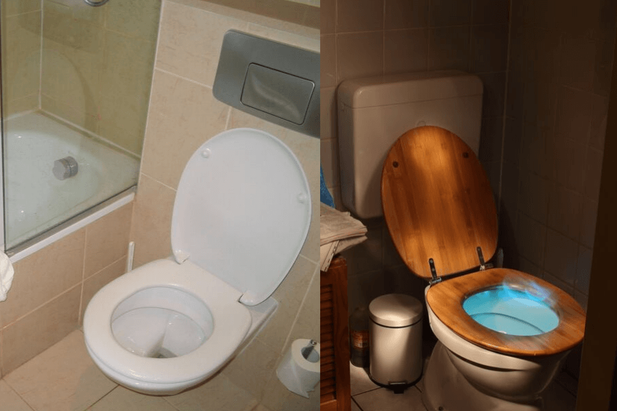 Most Residential Toilet Seats These Days Tend To Be Made Of
