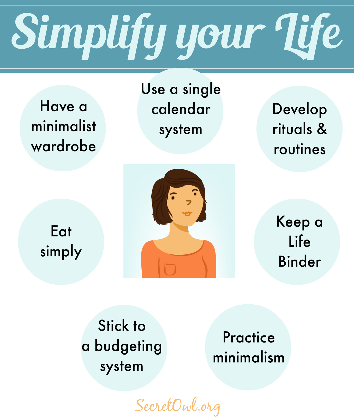 7 ways to simplify your life minimalisme d veloppement for Minimalisme rangement